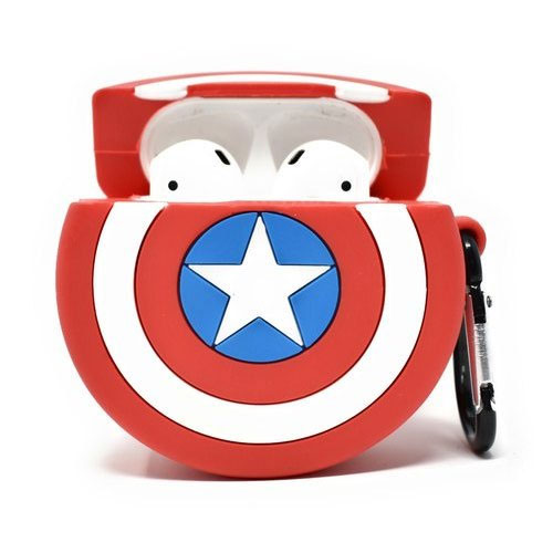 Captain America custom Airpods case.