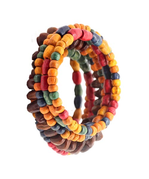 Eye Catchy Colourful Bead Wrist Band – Bracelet for Girls.