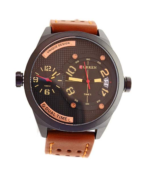 Curren M8252 Dual Movement Mens Watch.