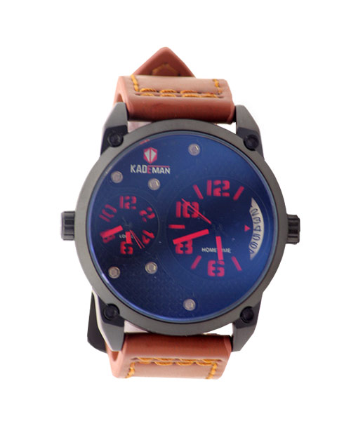 6135G Kademan mens watch dual time.