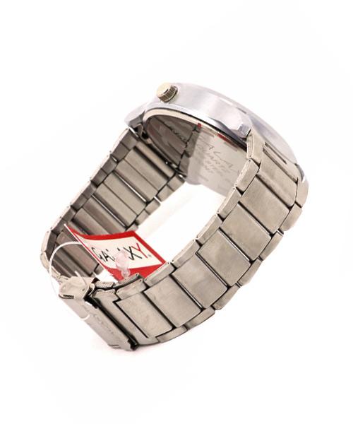Elegant silver watch for men.