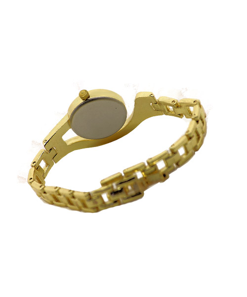 Designer diamonds gold bracelet wrist watches for women girls.