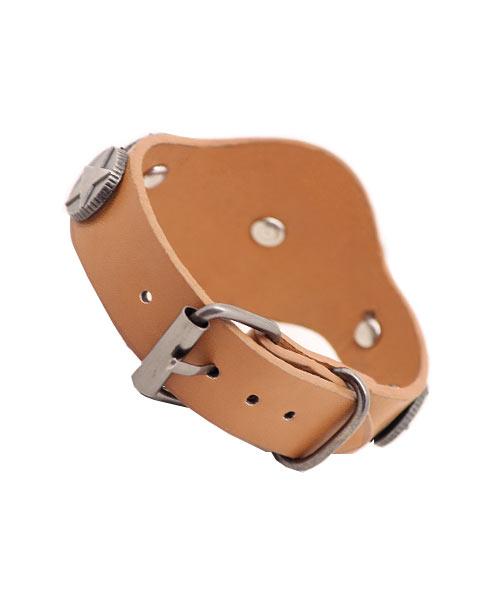 I Love Jesus unisex genuine leather bracelet.