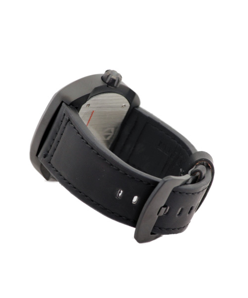 Kademan 407G PU leather sports watch.