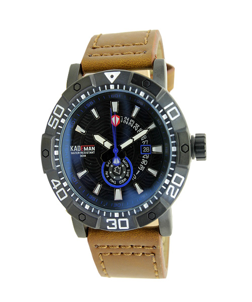 Kademan 6132 multi function mens watch.