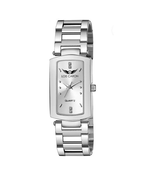 Silver watches for ladies.