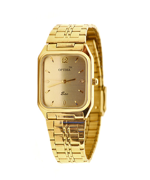 Classic gold plated men's watch.