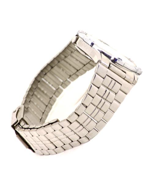 Classic silver men's watch.