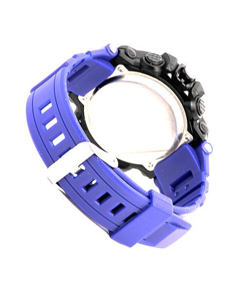 Mens sports watch blue strap.
