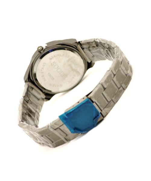 Black glossy anodised women's watch.