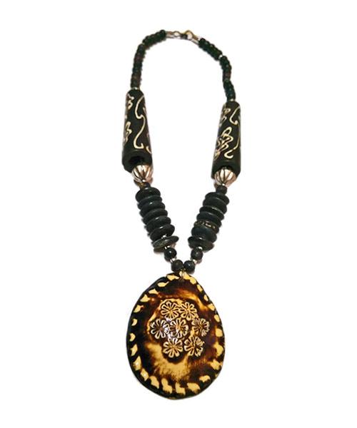 Indo western designer jewellery necklace.