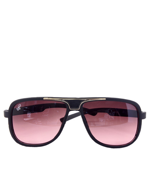 Premium black wayfarer mens gradient sunglasses.