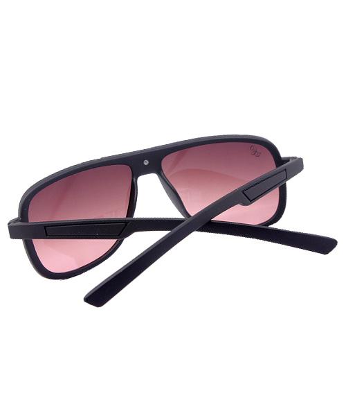 Premium black wayfarer mens gradient sunglasses.