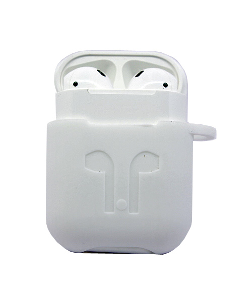 Attractive Apple Airpods silicone case.