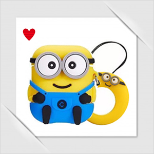 Minion Airpods 1 2 TWS i12 silicone cover case