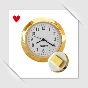 Sticker watch clock for car dashboard