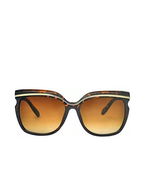 Brown cateye girls women sunglasses online.