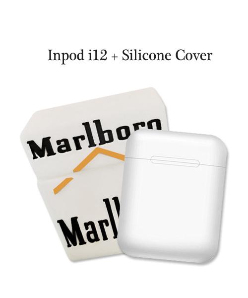 inPods 12 White With Marlboro Silicone Case.