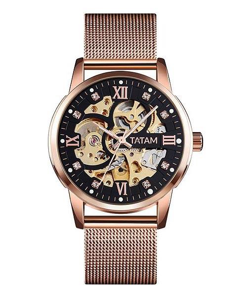 Tatam automatic mechanical mens business watch.