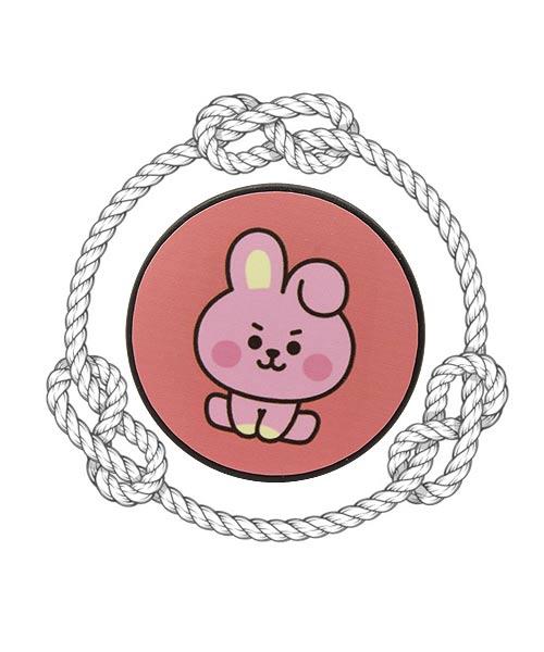 BT21 Baby Cartoon Pink Mobile Pop Socket.