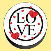 Love Themed Mobile Popsocket